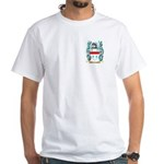 Quartermaine White T-Shirt