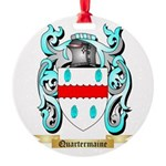 Quartermaine Round Ornament