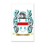Quartermaine Rectangle Car Magnet