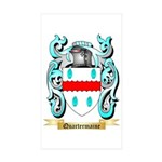 Quartermaine Sticker (Rectangle 10 pk)