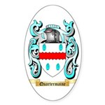 Quartermaine Sticker (Oval 50 pk)