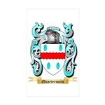 Quartermain Sticker (Rectangle 10 pk)