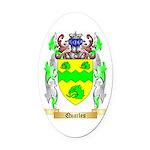Quarles Oval Car Magnet
