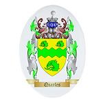 Quarles Oval Ornament