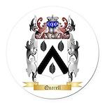 Quarell Round Car Magnet