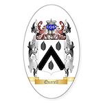 Quarell Sticker (Oval)