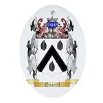 Quarell Oval Ornament