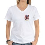 Qualters Women's V-Neck T-Shirt