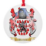 Qualters Round Ornament