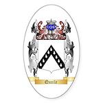 Quaile Sticker (Oval 50 pk)