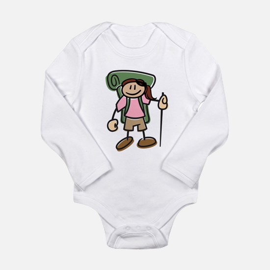 Cute Life is good Long Sleeve Infant Bodysuit