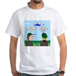 Helicopter Parents White T-Shirt