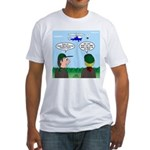 Helicopter Parents Fitted T-Shirt