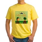 Helicopter Parents Yellow T-Shirt