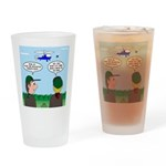 Helicopter Parents Drinking Glass