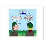 Helicopter Parents Small Poster