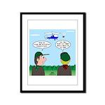 Helicopter Parents Framed Panel Print