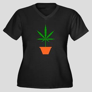 Pot in pot Plus Size T-Shirt