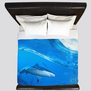 Underwater Shark King Duvet