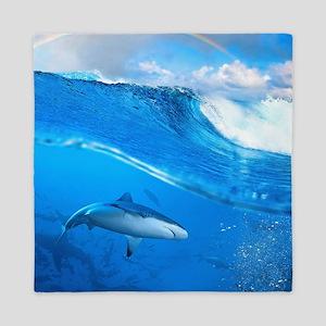 Underwater Shark Queen Duvet