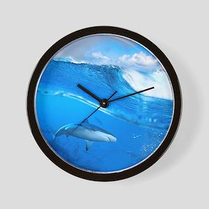 Underwater Shark Wall Clock