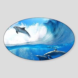Beautiful Dolphins Sticker