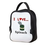 I Love Spinach Neoprene Lunch Bag