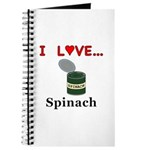I Love Spinach Journal