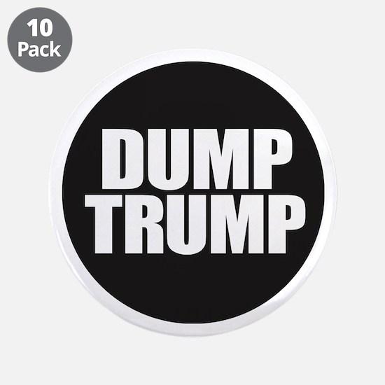 "Dump Trump 3.5"" Button (10 pack)"