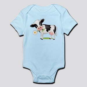 Flower Power Cow Body Suit