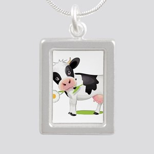 Flower Power Cow Necklaces