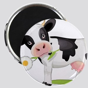 Flower Power Cow Magnets