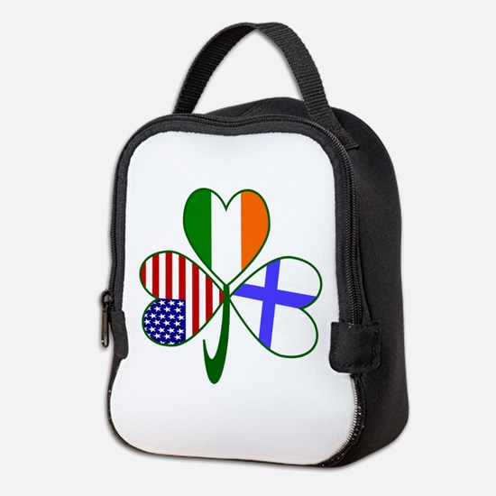 Shamrock of Finland Neoprene Lunch Bag