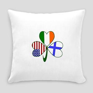 Shamrock of Finland Everyday Pillow