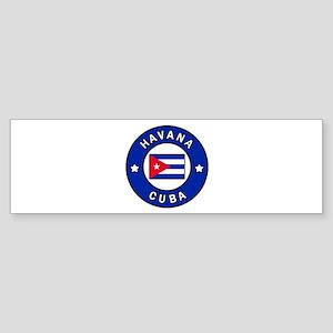 Havana Cuba Bumper Sticker