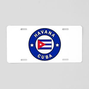 Havana Cuba Aluminum License Plate