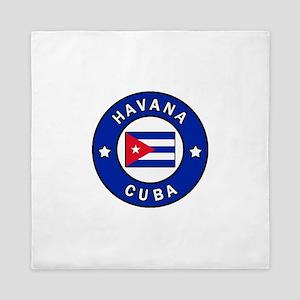 Havana Cuba Queen Duvet