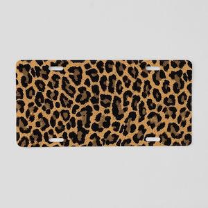 leopard 6500 X 6500 px Aluminum License Plate