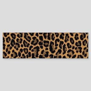 leopard 6500 X 6500 px Bumper Sticker