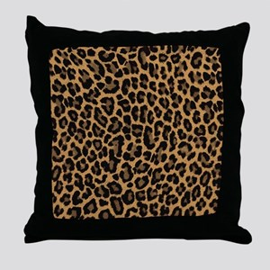 leopard 6500 X 6500 px Throw Pillow