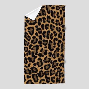leopard 6500 X 6500 px Beach Towel