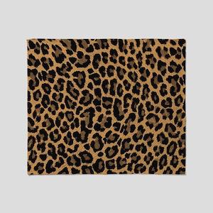 leopard 6500 X 6500 px Throw Blanket