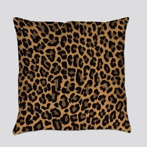 leopard 6500 X 6500 px Everyday Pillow