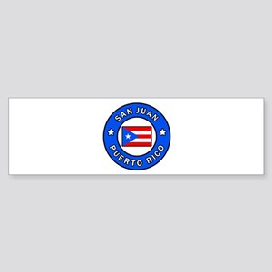 San Juan Puerto Rico Bumper Sticker