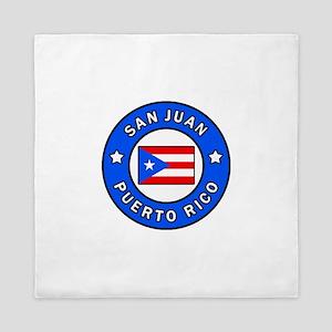 San Juan Puerto Rico Queen Duvet