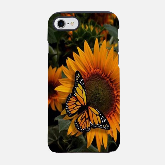 Sunflower Radiance Monarch B iPhone 8/7 Tough Case