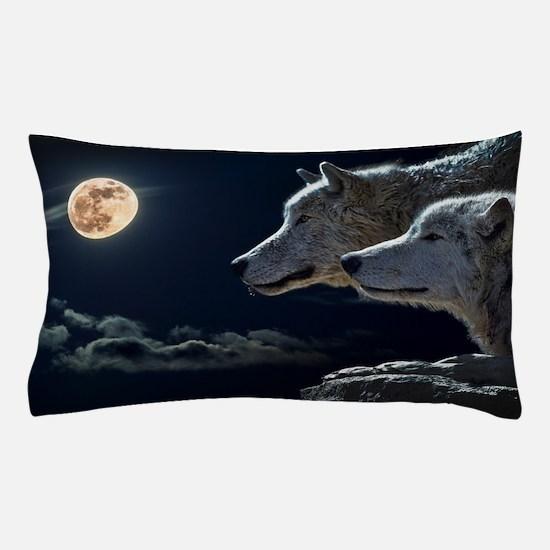 Moon & Wolfs Pillow Case