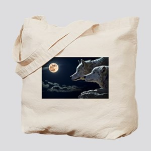 Moon & Wolfs Tote Bag