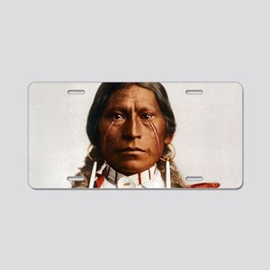 Apache Native American Chie Aluminum License Plate
