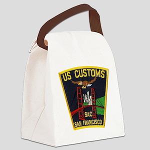 San Francisco Customs SAC Canvas Lunch Bag